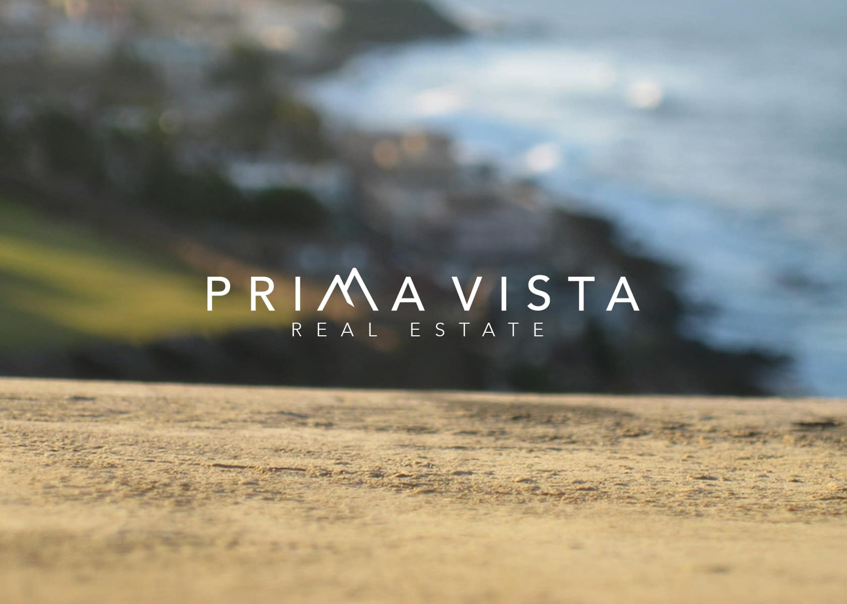 real estate branding, brand identity real estate, prima vista