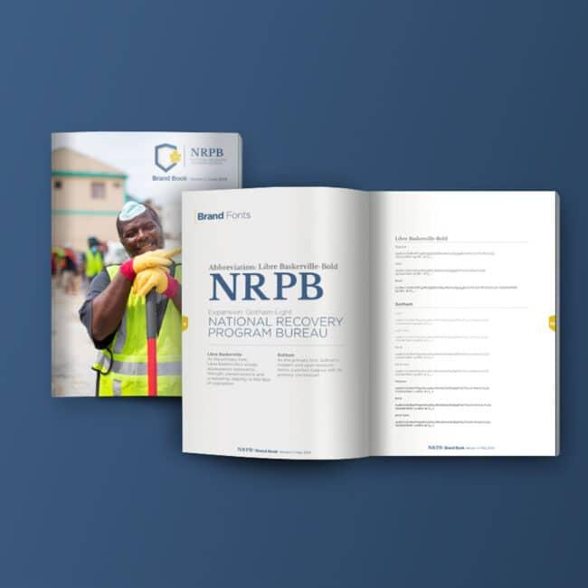 NRPB, brand identity package, branding, NRPB Sxm