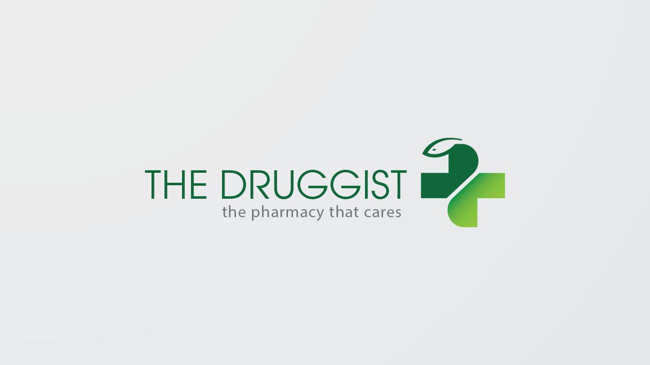 the druggist, logo