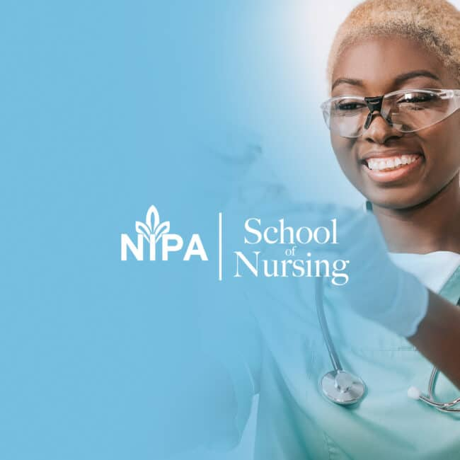 nipa, school branding, nursing, brand identity, branding