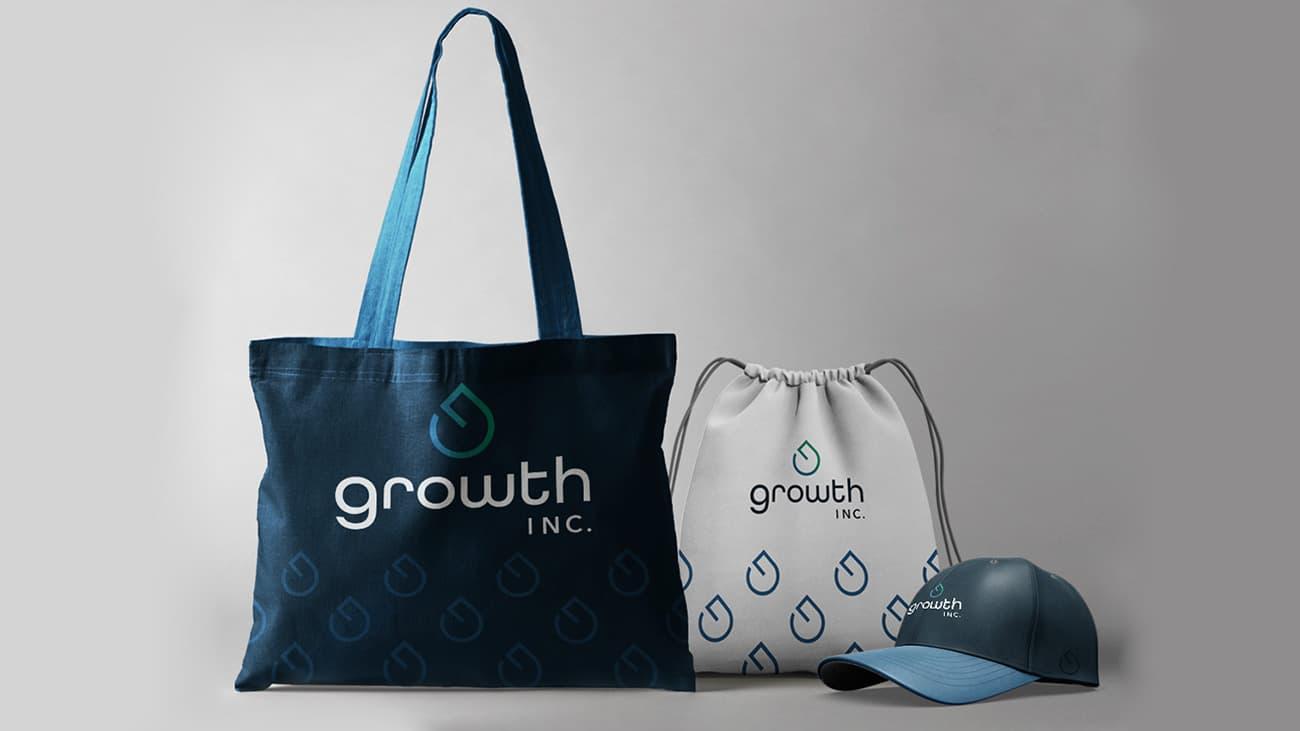growth inc., brand identity