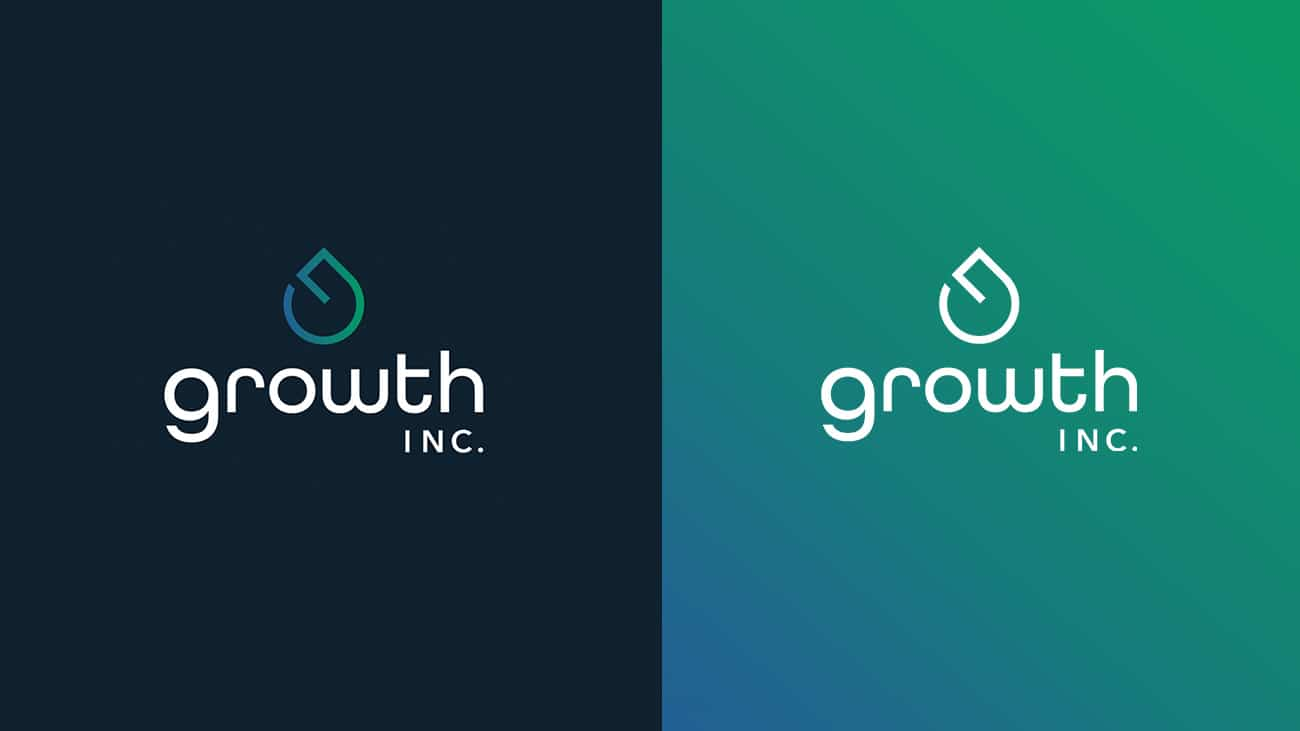 growth inc., logo development